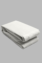 Load image into Gallery viewer, Ivory Fitted Sheet (Super King Size)