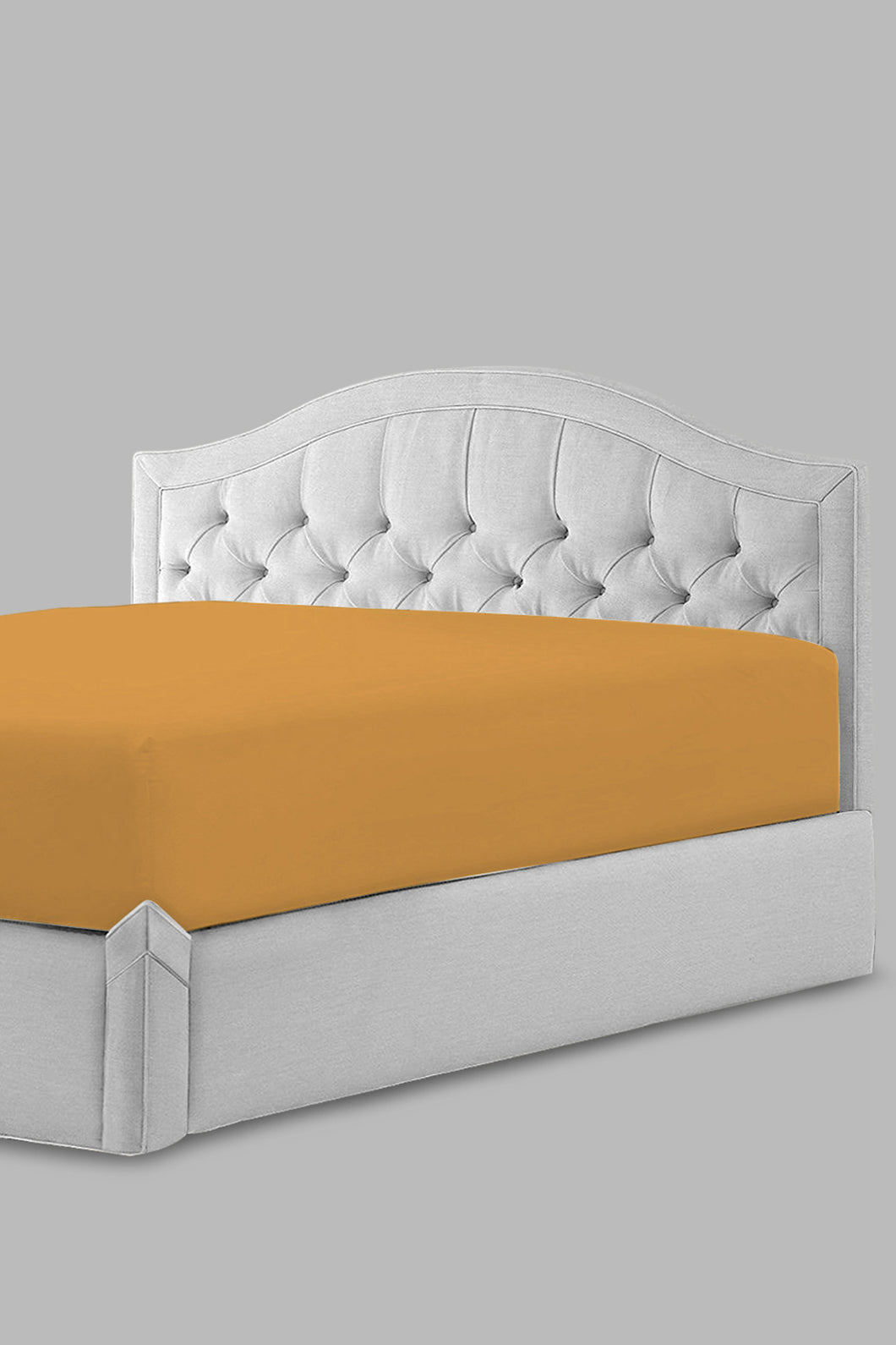 Mustard Fitted Sheet (Twin Size)
