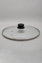 Load image into Gallery viewer, Black Aluminum Nonstick Dutch Oven With Glass Lid (30cm)