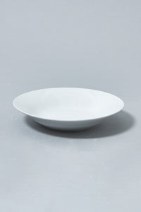 White Plain Porcelain Dinner Set (47-Piece)