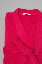 Load image into Gallery viewer, Fuschia Kimono Bathrobe