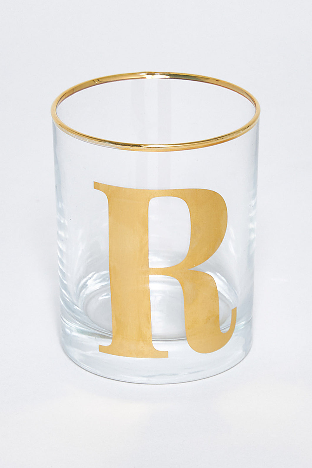 Alphabet Glass - R