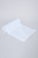 Load image into Gallery viewer, White Soft Cotton Bath Towel