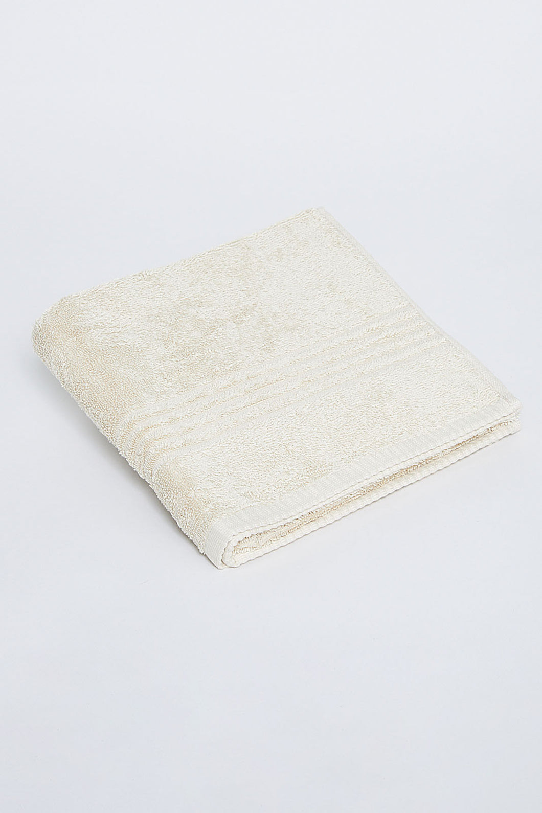 Beige Soft Cotton Hand Towel