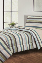 Load image into Gallery viewer, Multicolour 3 Piece Comforter Set (Single Size)