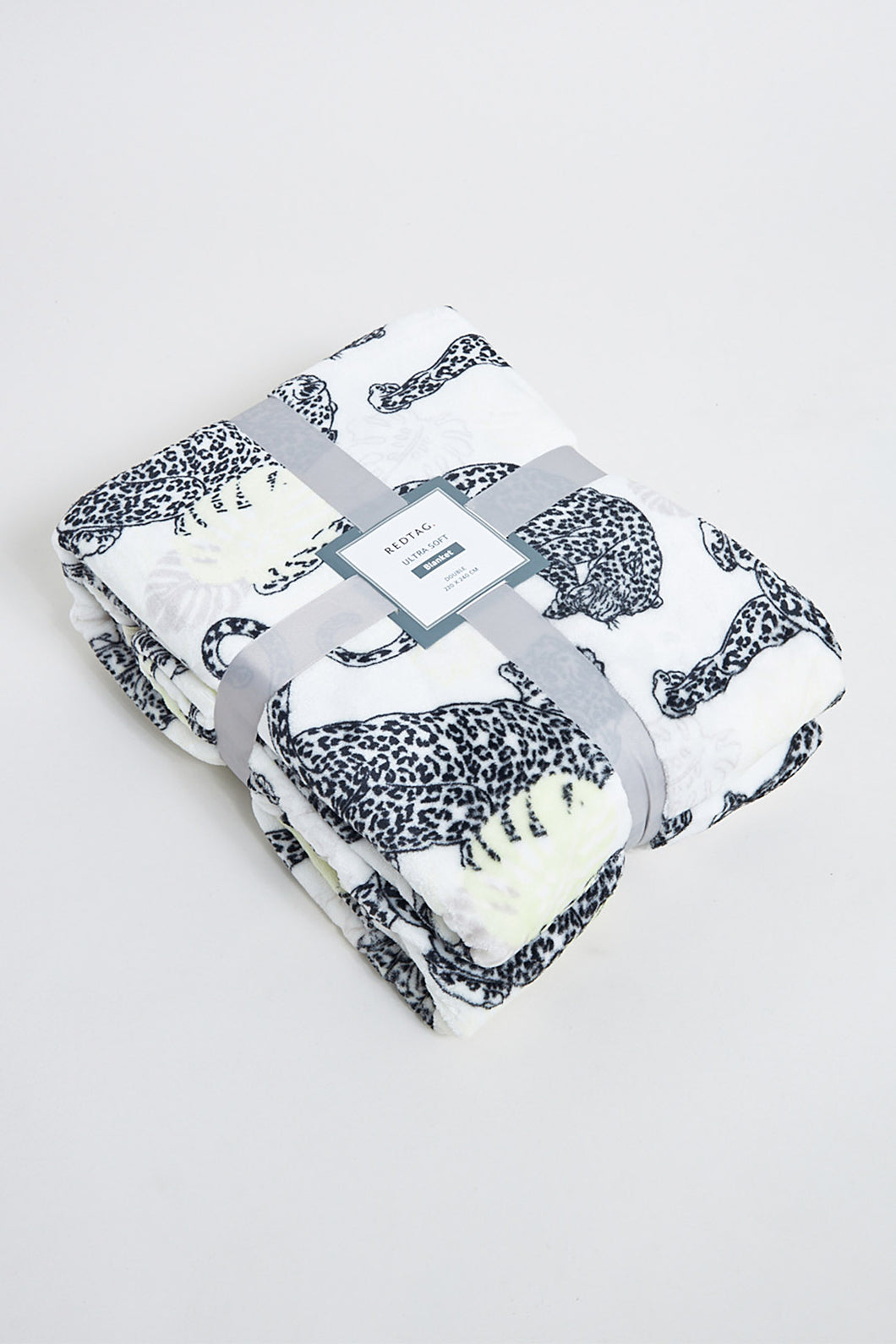 Ivory Ultra Soft Animal Print Blanket (Double Size)