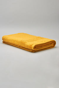 Mustard Bath Towel