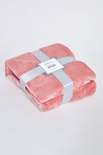 Load image into Gallery viewer, Pink Ultra Soft Blanket (Single Size)