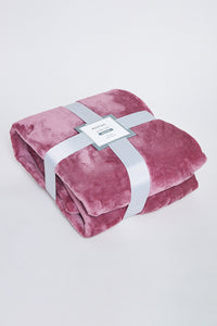 Purple Ultra Soft Blanket (Double Size)