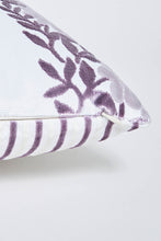 Load image into Gallery viewer, Purple Floral Oblong Cushion