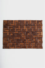 Load image into Gallery viewer, Brown Pabble Rectangle Bamboo Placemat