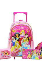 Load image into Gallery viewer, Pink Disney Princess Trolley Set (5-Piece Set)
