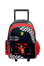 Load image into Gallery viewer, Black Ferrari Print Trolley Set (2-Piece Set)