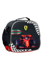 Load image into Gallery viewer, Black Ferrari Print Lunch Bag Set (3-Piece Set)