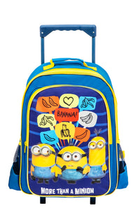 Blue Minions Trolley Set (5-Piece Set)