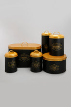 Load image into Gallery viewer, Black/Gold Cake Box (Medium)