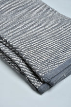 Load image into Gallery viewer, Grey Textured Handwoven Rug