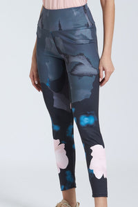 Multicolour Allover Print Legging
