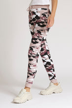 Load image into Gallery viewer, Pink Camo Print Jogger