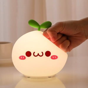 Stretchy-Face LED Sensor Night Light