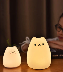 Stretchy Cat LED Night Light