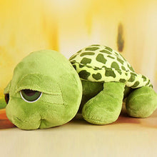 Load image into Gallery viewer, Big Eyed Green Turtle Plushie for sale at Global Plushie