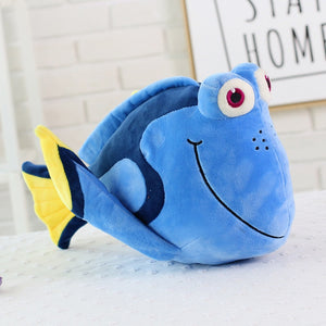 "Nemo and Dory plushies from ""Finding Nemo"" & ""Finding Dory"""