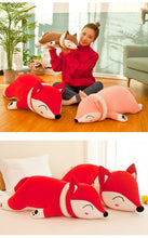 Load image into Gallery viewer, Snugly Colorful Fox Plushie for sale at Global Plushie