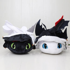 Transformable Toothless Night Fury & Light Fury
