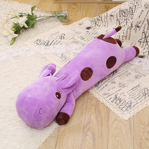 Lying Giraffe Plush Toy & Body Pillow