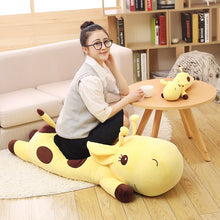 Load image into Gallery viewer, Lying Giraffe Plush Toy & Body Pillow
