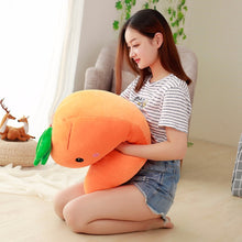 Load image into Gallery viewer, Caro the Big Carrot Body Pillow