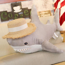Load image into Gallery viewer, Big Friendly Sharks Plush Pillow
