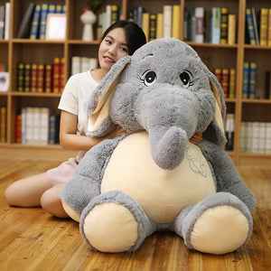 Sad Looking Elephant Plush