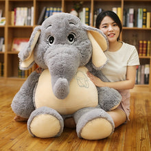 Load image into Gallery viewer, Sad Looking Elephant Plush