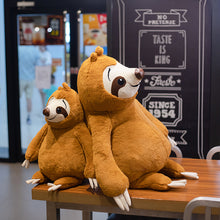 Load image into Gallery viewer, Lazy Sloth Plush Toy