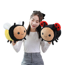 Load image into Gallery viewer, Big Ladybird and Bee Plush Toy