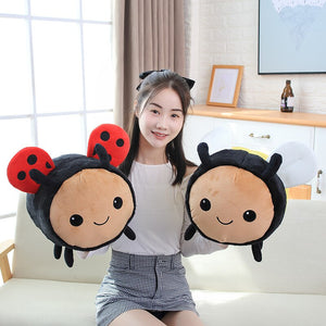 Big Ladybird and Bee Plush Toy