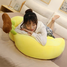 Load image into Gallery viewer, Cuddly Banana Plush Pillow