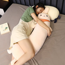 Load image into Gallery viewer, Large Squishable Body Pillow - Rabbit, Unicorn, Cow, Bear