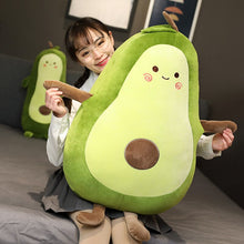 Load image into Gallery viewer, Giant Yummy Avocado Plush - Chubby Cushion & Long Body Pillow (2 Styles)
