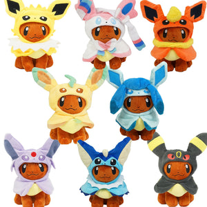 Eevee in Pokemon Costumes
