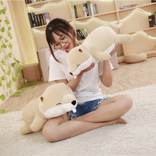 Load image into Gallery viewer, Sleeping Shiba Inu Pillow