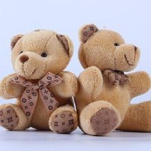 Load image into Gallery viewer, Stuffed Teddy Bear Plush Toy Keychain for sale at Global Plushie