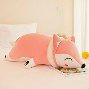 Snugly Colorful Fox Plushie for sale at Global Plushie