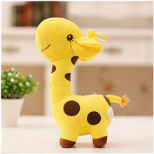 Load image into Gallery viewer, Mini Colorful Giraffe Plushie for sale at Global Plushie