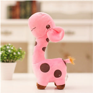 Mini Colorful Giraffe Plushie for sale at Global Plushie