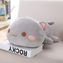 Load image into Gallery viewer, Cuddly Lying Cat Plush Pillow