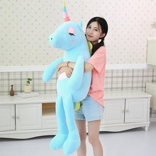 Load image into Gallery viewer, Big Soft Colorful Unicorn