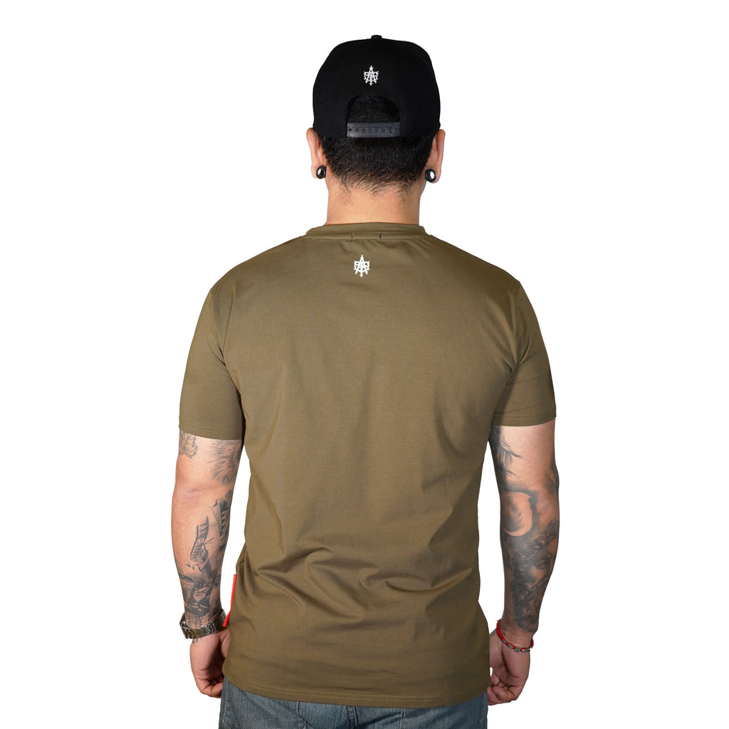 Asi Olive Green T-Shirt